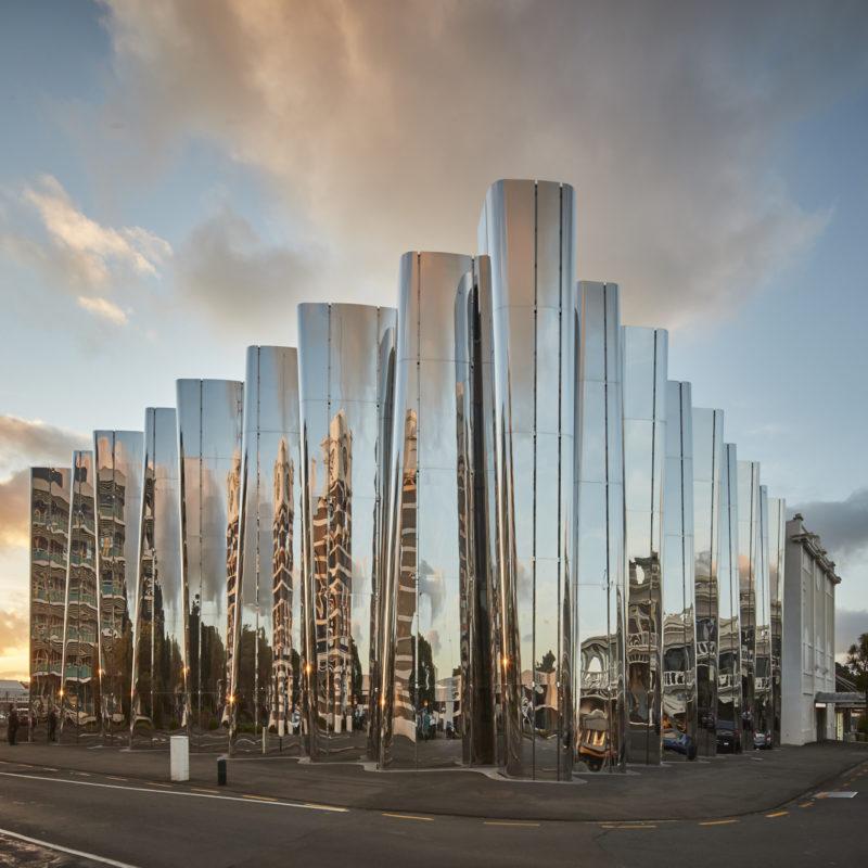 Govett-Brewster Art Gallery/Len Lye Centre facade
