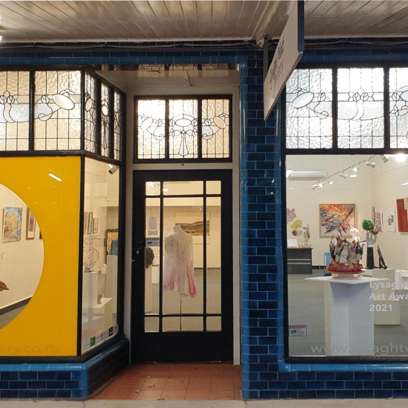 Lysaght Watt Gallery from the street